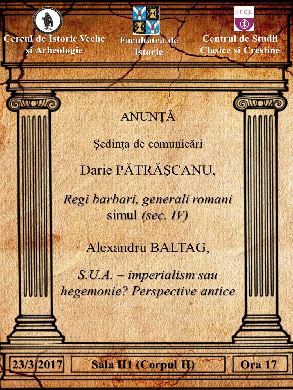 Afişul manifestării