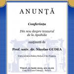 "Image for 21 iunie 2013 – Prof.univ.dr. Nicolae GUDEA:""Din nou despre tezaurul de la Apahida"""