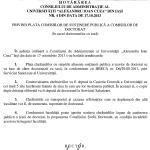 Image for Hotarâre privind Plata comisiilor de susţinere publică a tezei