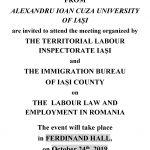 Image for Intalnire intre studentii internationali si reprezentantii ITM si Serviciul pentru Imigrari Iasi