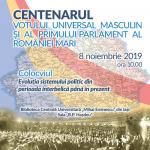 """Image for 8 noiembrie 2019 – Colocviul """"Evoluţia sistemului politic din perioada interbelică până în prezent"""""""